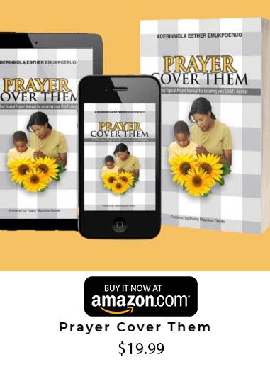 Prayer Cover Them On Amazon