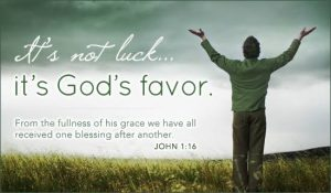 FAVOUR AND GOODWILL OF THE FATHER